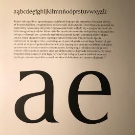 Projekt fontu