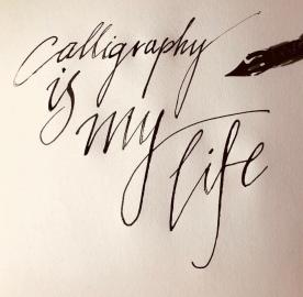 Kaligrafia odręczna